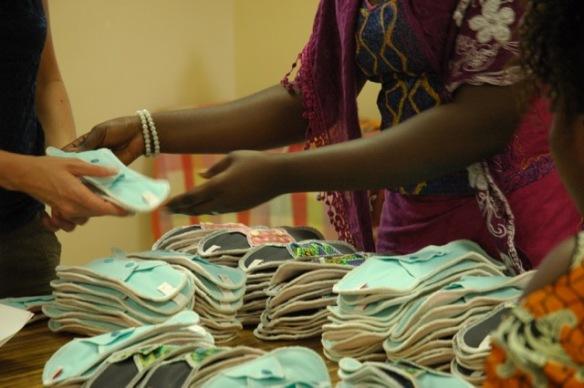 Serviettes hygiéniques ApiAfrique